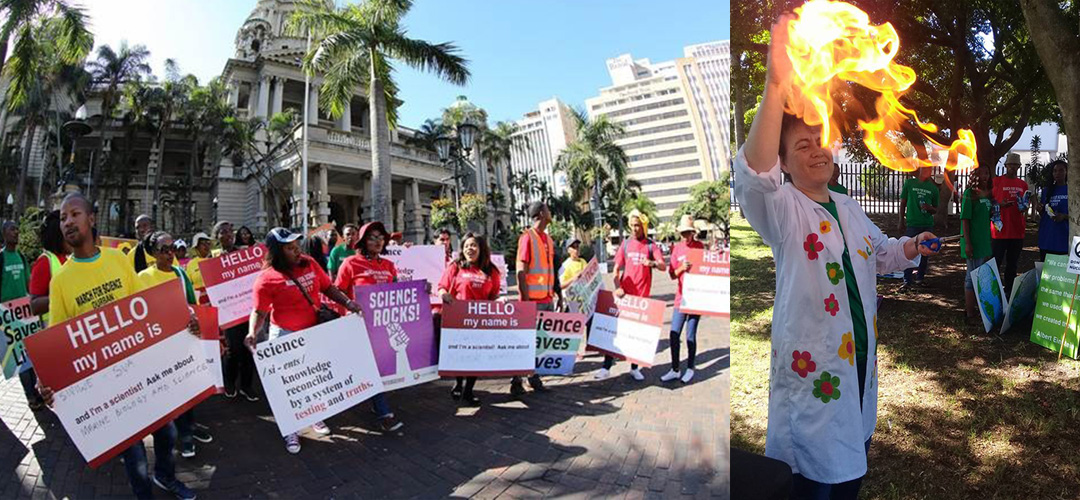 Leading Scientists Unite in a March for Science in Durban