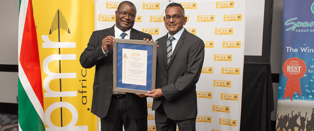 PMR.africa Ranks UKZN's Business School Third Best in SA